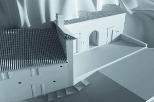 Tipologia edilizia totalmente in grotta: Eremo di San Michele a Pescocostanzo