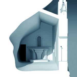 Tipologia edilizia parzialmente in grotta: Eremo di San Bartolomeo in Legio