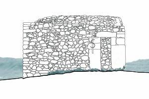 Tipologia edilizia in superficie: Eremo di Santa Croce al Morrone