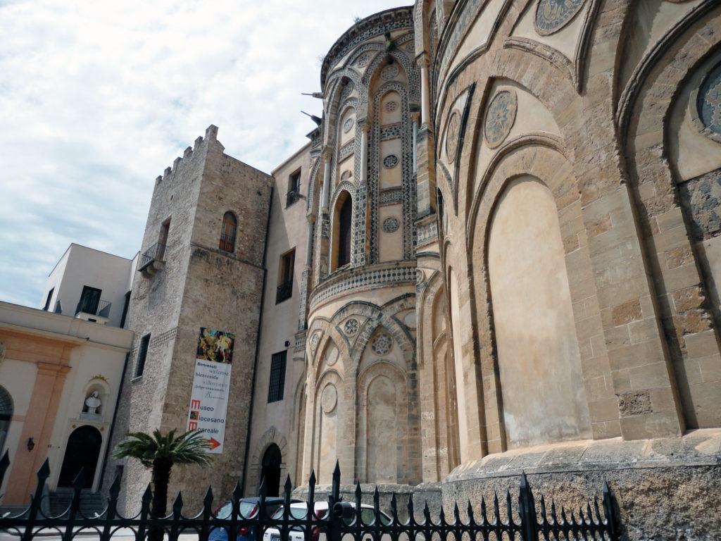 Ingresso al Museo Diocesano di Monreale